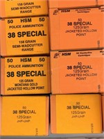 1000+ Rounds .38 Special Ammunition