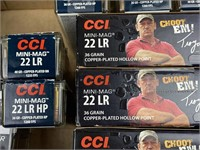 3500 Rounds CCI .22LR Ammunition