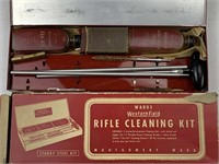 2pc Vintage rifle cleaning kit