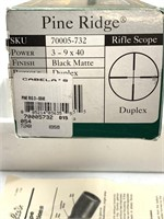 Cabela's Pine Ridge 3-9 x 40 Rifle Scope