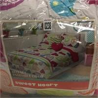 BED ENSEMBLE SET DOUBLE/QUEEN