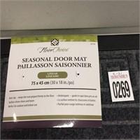 """SEASONAL DOOR MAT 30X18"""""""