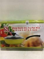 NONSTICK CERAMIC COATING FRY PAN