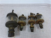 4-Brass Oilers and Embury Mfg. Co. Warsaw Lamp