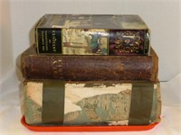 2-Old Bibles, Complete Encyclopedia of Antiques