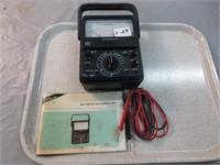 Micronta Fet Analog Multimeter (con't)