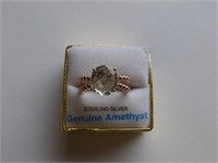 Sterling Rose Gold plated Ring (con't)