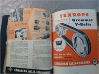 Binder of Allis Chalmers Material and More