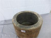"""Wooden Pulley 14"""" diameter x 9 1/2"""""""