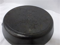 "Seasoned 12"" cast iron skillet (new)"