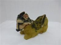 Doll, China Pig, Wind-Up Donkey, Dog on Wheels