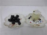 Black Sheep Tea Figurines (See Description)