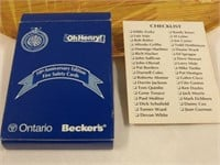 Complete Set of '92 World Series Champs Cards