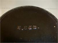 "E.S. and B. Brown Crock 11 3/4"" Diam x5 1/2""Deep"