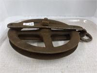 """Steel Pulley -10 1/2"""" diameter"""