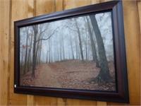 """Fall Bush Scene Picture 30 1/2""""x 42"""""""