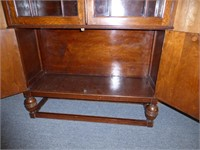 China Cabinet- curved top