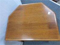 Roxton Maple End Table w/Side Doors and Shelves