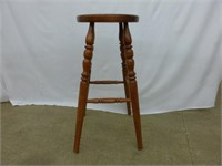 "Round Top 29"" Bar Stool (wood-mark on top)"