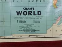 Cram's Rolling World Map