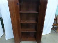 """Two Door Cupboard w/Four Shelves 24""""x12""""x60"""""""