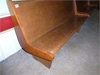 6ft Wooden Pew