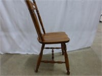 Wooden Arrowback Dining Chair