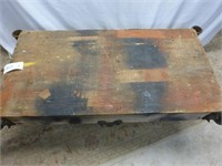 "Steel Wheeled Foundry Cart 24 1/2"" x 48 1/2"""