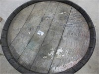 """Wooden Barrel 22"""" Diameter x 34 1/2"""" High"""