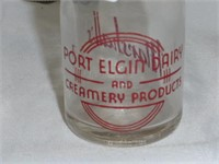 Port Elgin Dairy and Creamery Products Bottle