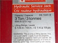 Motomaster 3 Ton Hyd Floor Jack