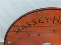 Massey Harris Co. Ltd. Half-Moon Wooden Sign