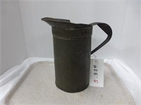 Gallon Metal Pitcher, 2 Pails (one rusty)
