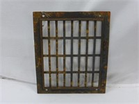 """2 Cast Grates 9 3/4"""" x 11 1/2"""" and 14"""" x 21"""""""
