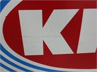 "Kist French 58"" x 34"" metal sign"