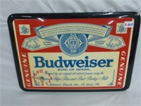 Budweiser and Miller Lite Collectables (3pcs)