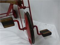 Vintage Trike (Poor Rubber on Wheels)