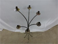 Brass 6 Candle Candleabra