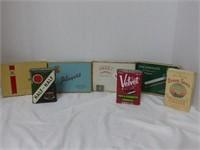 13 Tobacco and Cigarette Tins and Box Lot (con't)
