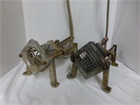 French Fry Cutter and Wedge Fry Cutter