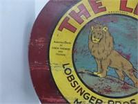 """The Lion"" Lobsinger Bros. Mildmay, Sign"