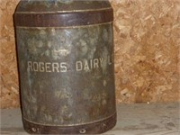 Rogers Dairy Limited Milk Can