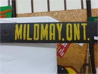 Wooden Sign Lobsinger Bros. Ltd. Mildmay
