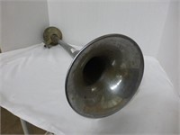 "Brass Horn and Silver 21 1/2"" Horn"