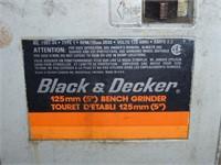"""B&D 5"""" Bench Grinder"""