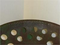 Massey Harris Machinery Seat w/Bracket