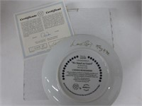 Canada Remembers-10 Collector Plates