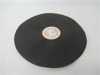 Victorian Set of 4 Round Placemats - Black