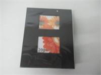 """Kiera Grace Photo Album, 4"""" x 6"""", Black"""