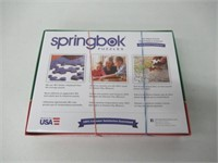 Springbok Cookies and Christmas Jigsaw Puzzle (500